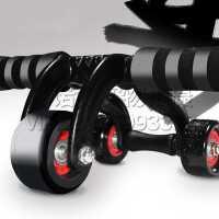 腹肌轮健身器材 多功能家用三轮健身器 健腹轮 运动健身轮巨轮健身器运动滚轮健身轮