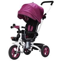 儿童车子1-3岁折叠手推车宝宝三轮车脚踏车自行车