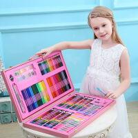 儿童画笔套装礼盒美术用品绘画水彩笔蜡笔画画生日女孩六一节礼物