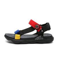 男童凉鞋新款夏季女童凉鞋外穿儿童沙滩鞋中大童露趾软底防滑凉拖鞋潮DW2059