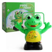跳舞机器人青蛙电动玩具会跳绳会翻斗唱歌的儿童宝宝礼物 跳绳青蛙