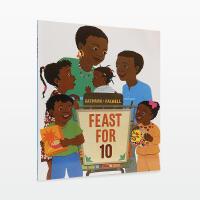 【99选5】美国进口 Feast for 10 数字启蒙【平装】吴敏兰书单 第57本#