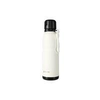【当当自营】杯具熊(BEDDYBEAR) 男女保温保冷户外旅行不锈钢水壶 运动健身杯子580ml 白色运动水杯