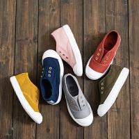 儿童帆布鞋男童女童鞋子低帮学生鞋经典软底宝宝休闲布鞋
