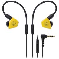 铁三角(Audio-Technica)ATH-LS50iS YL 双动圈监听HIFI发烧入耳式耳塞/耳机 黄色