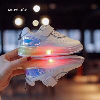 女童鞋儿童鞋子单鞋时尚儿童休闲板鞋运动鞋