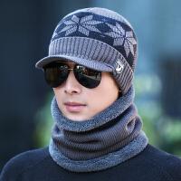 帽子男冬天韩版潮青年保暖毛线帽男士棉帽子冬季针织帽护耳帽防风