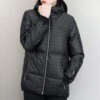 Adidas阿迪达斯 女子 运动羽绒服 连帽保暖羽绒夹克CD6653