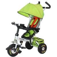童车  时尚经典款童车 舒适遮阳儿童三轮脚踏车 儿童三轮车