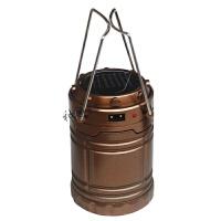 户外野营营地灯 多功能太阳能台灯 可放电池充电台灯 帐篷灯 马灯