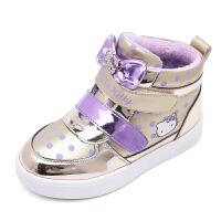 hellokitty童鞋女童运动鞋冬季新款儿童棉鞋加绒大棉保暖