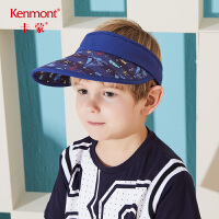 卡蒙3-6岁户外儿童防晒帽男孩旅游帽小童空顶帽时尚韩版潮遮阳帽4793