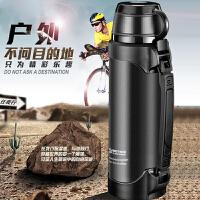 保温水壶不锈钢登山大容量家用户外保温杯男车载旅行水壶保温瓶