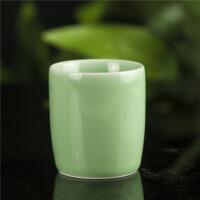 龙泉青瓷杯子陶瓷情侣水杯单杯功夫茶具茶杯口杯笔洗