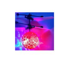 七色光水晶球感应飞行器遥控飞机耐摔感应悬浮球充电儿童玩具礼品 +遥控开关