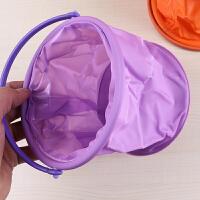 多功能折叠隔层水桶水粉水彩专用帆布水桶洗笔水筒鸳鸯桶便携写生