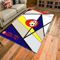 客厅地毯卧室满铺北欧ins沙发茶几垫可手洗几何定制房间可爱宜家SN8954 咖啡色 0