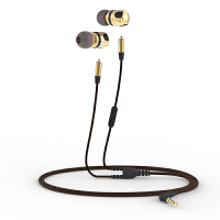 浦记(PLEXTONE)X46M金属发烧音质入耳式耳塞可拆卸换线DIY带麦耳机 标配