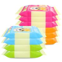 温莎十片小包湿巾10包便携婴儿湿巾10片启封袋宝宝湿纸巾