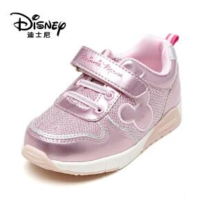 鞋柜/迪士尼女童单鞋亮色公主休闲运动鞋1