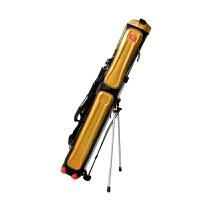 渔具包竿包1.25米鱼竿/三层钓鱼包鱼具包防水pu杆包多功能 金色 金三层