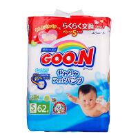 日本大王 GOO.N 维E系列婴儿纸尿裤 尿不湿 拉拉裤 S62