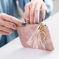 零钱包女迷你可爱小钱包女短款户外韩版超薄款硬币包