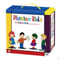少儿英语自然拼读 phonics kids幼儿童早教英语启蒙视频教材书DVD光碟