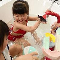 宝宝洗澡玩具儿童喷水戏水女孩婴儿游泳幼儿男孩电动喷头大象花洒