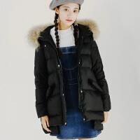 【1.5折价148元】唐狮冬季新款羽绒服中长女加厚中长