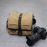 尼康相机包单反男女帆布摄影包D5300 D7100D7200D7000D3200D3400