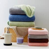 毛巾*1+浴巾*1纳米强吸水速干洗脸毛巾裹胸大浴巾成人儿童男女柔软套巾