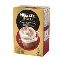 [当当自营] 瑞士进口 Nescafe Cappuccino 雀巢卡布奇诺盒装速溶咖啡