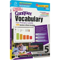 SAP Conquer Vocabulary 5 五年级英语词汇练习册 攻克词汇系列 提高难度版 11岁 英文原版进口