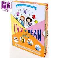 【中商原版】Ivy & Bean Boxed Set 艾薇和豆豆7-9盒装附贴纸美国图书馆协会纽约时报7-14岁