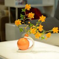 客厅玄关鞋柜酒柜装饰品摆件家居饰品创意摆设现代简约小工艺品 姜黄色 B款一件