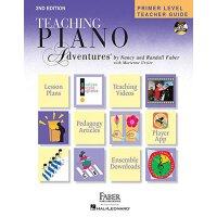 英文原版 菲伯尔钢琴基础教程(初级):教师用书 Primer Level Teacher Guide: Hardcov