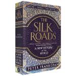 正版 The Silk Roads 丝绸之路 英文原版英语书 世界新史 一带一路 英文版进口历史书籍 中国通史 Pet