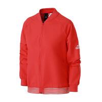 adidas阿迪达斯女子外套夹克2018新款立领运动休闲运动服CY9854