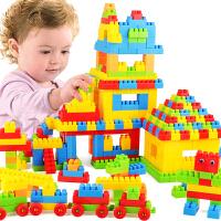 儿童大号颗粒宝宝女孩拼装拼插3-6周岁7岁小孩塑料积木玩具