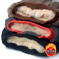 冬季男童裤子加绒保暖棉裤中大童儿童秋冬宽松厚款外穿潮