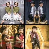 儿童摄影服装新款 时尚潮流影楼照相韩版服饰/男女宝宝衣服