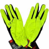NIKE 耐克手套跑步手套 NRG28710 防风干爽手指触摸电子产品方便 健身手套