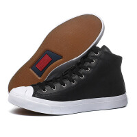 Converse匡威男女鞋板鞋2017新款开口笑高帮休闲运动鞋157707C