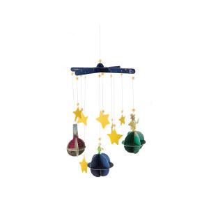 Hape小王子DIY星球历险风铃6岁以上婴幼玩具摇铃床铃安抚824686