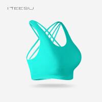瑜伽服秋冬健身房女跑步运动文胸防震无钢圈透气内衣T070