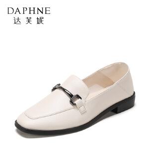 【达芙妮集团】鞋柜 春秋时尚休闲时尚女单鞋1117404289