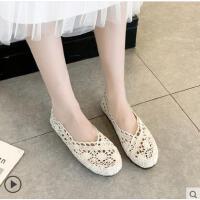 老北京布鞋女软底豆豆鞋学生平底单鞋女上班工作鞋防滑孕妇鞋