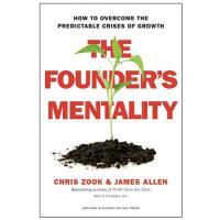 【现货】英文原版 创始人精神 :如何克服发展中可预见的危机 The Founder's Mentality 精装978