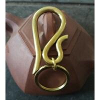 纯手工304不锈钢 铜钥匙扣汽车男士钥匙扣复古钥匙扣创意礼物